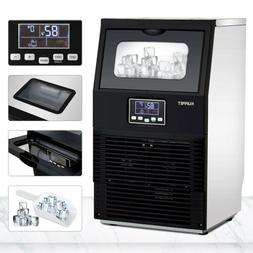 Commercial Ice Maker Auto Ice Cube Making Machine Stainless