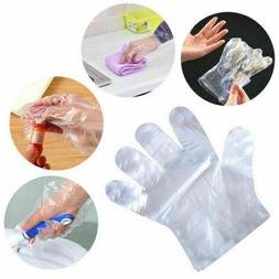 100/300/500pc Home Restaurant Polythene Disposable Gloves Fo