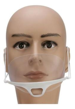 10pcs Transparent plastic anti-fog mouth shield ,suitable fo