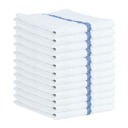 12 Pack of Bar Mop Terry Towels - Qwick Wick Kitchen Towel -