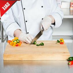 """18"""" x 12"""" x 1 3/4"""" Wood Commercial Restaurant Solid Cutting"""
