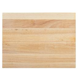 """20"""" x 15"""" x 1 3/4"""" Wood Commercial Restaurant Solid Cutting"""