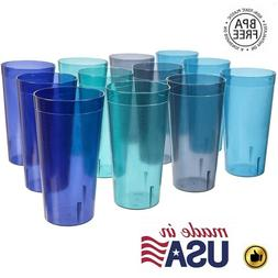 32 Oz Plastic Tumblers Reusable Cups Restaurant Drinking Cup