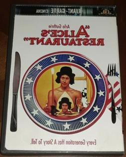 Alice's Restaurant 1969 DVD By Arlo Guthrie, James Broderick