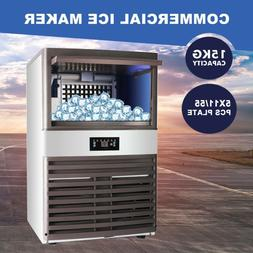 Auto Built In Commercial Ice Maker Undercounter Restaurant I