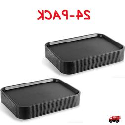 Cafeteria Trays Lot Serving Fast Food Tray Plastic Restauran