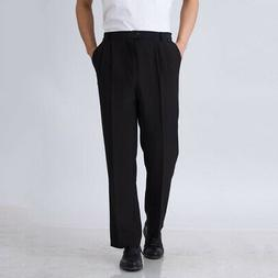 Chef Work Pants Kitchen Baggy Trousers Restaurant Staff Blac