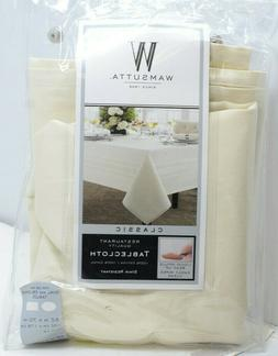 Wamsutta Classic Restaurant Quality Oblong Tablecloth 52 in