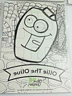Coloring Puzzles For Kids Craft Project Olive Garden Restaur