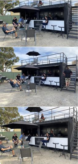 Converted Shipping Container - BAR / Restaurant /Coffee Shop