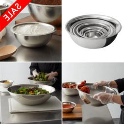 Different Sizes Stainless Steel Restaurant Mixing Bowl Heavy