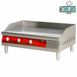 Electric Commercial Flat Top Restaurant Griddle Countertop E