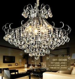 European court style K9 Clear Crystal Ceiling Fixtures Resta