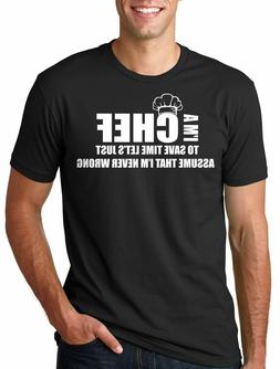 Funny Chef Cook T-shirt Chef Restaurant Tee shirt gift for C