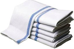 """HERRINGBONE STRIPED KITCHEN TOWELS 15""""x25"""" for Home and Rest"""