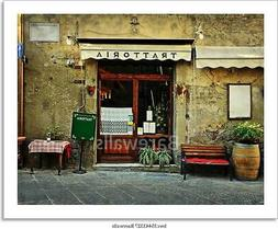 Italian Restaurant Art Print Home Decor Wall Art Poster - D