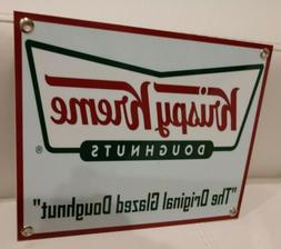 Krispy Kreme restaurant fast food donut Sign