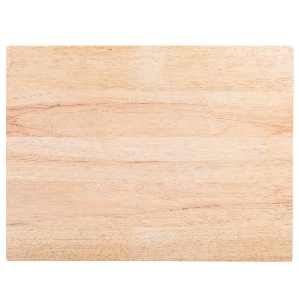 """2 PACK 24"""" 18"""" x Wood Commercial Restaurant Cutting Board Butcher Block"""