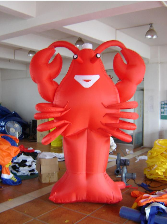 20ft 6m advertising giant inflatable lobster restaurant