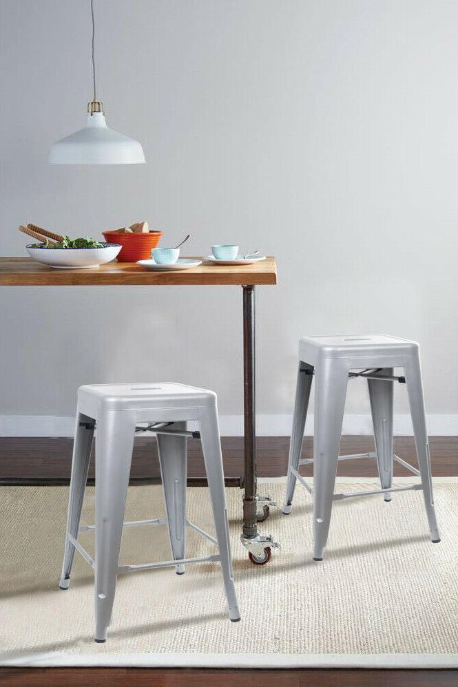 24'' Bar Stool Industrial Kitchen Counter