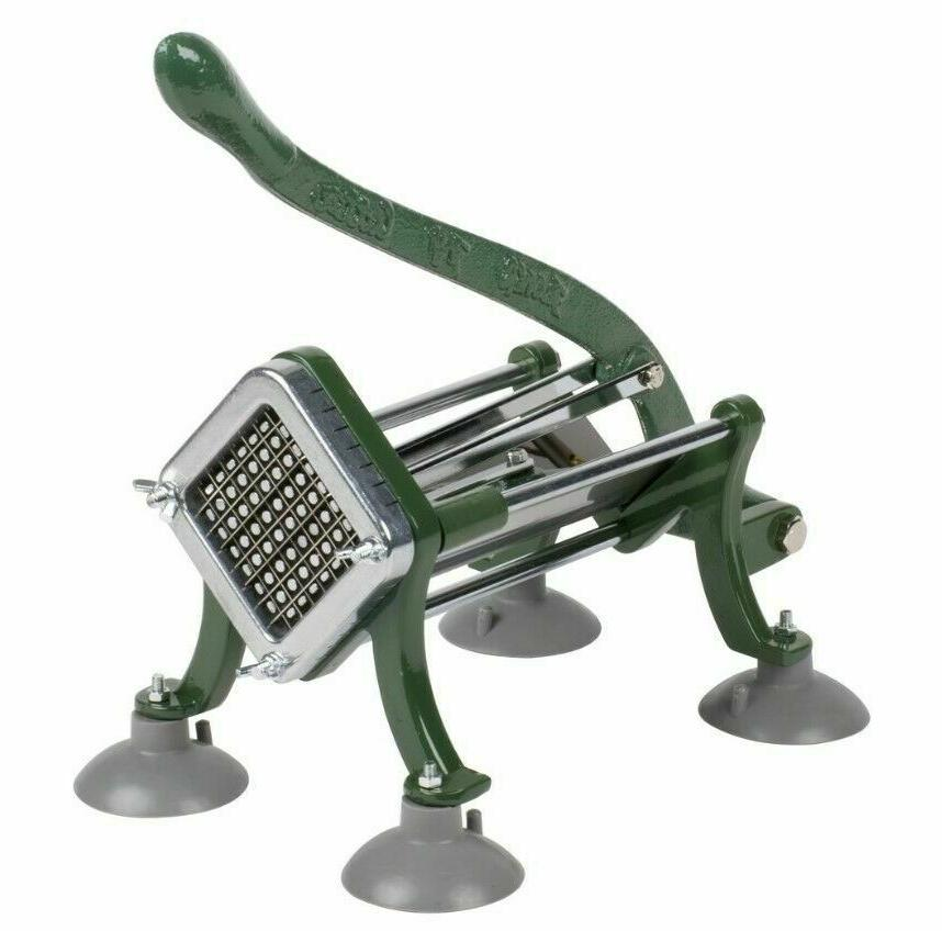 """3/8"""" French Fry Cutter W/ Suction Feet Potato Slicer Fries D"""