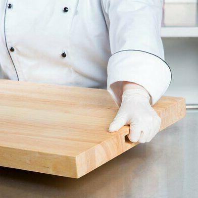 """30"""" x 1 Wood Commercial Butcher"""