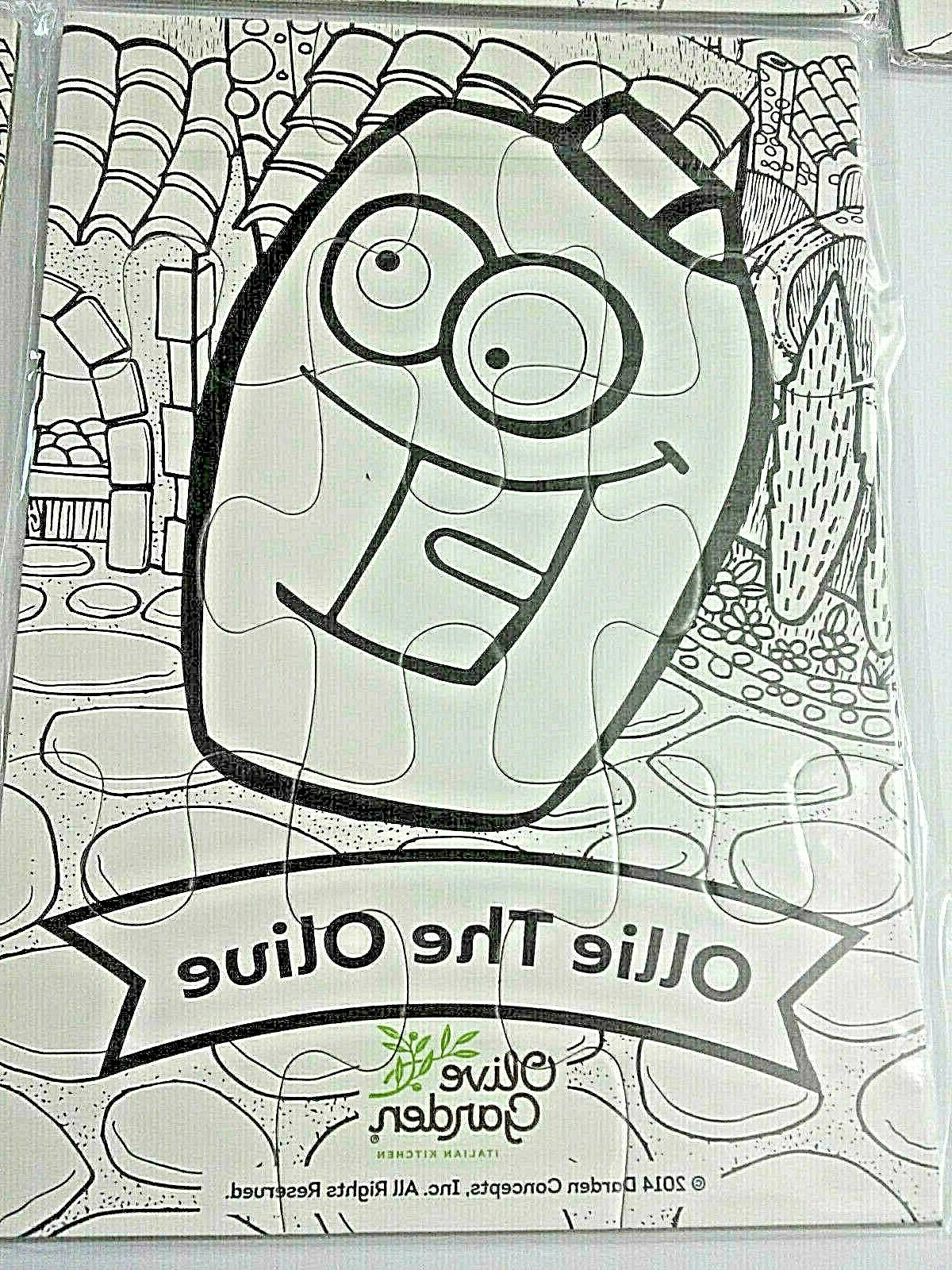 coloring puzzles for kids craft project olive