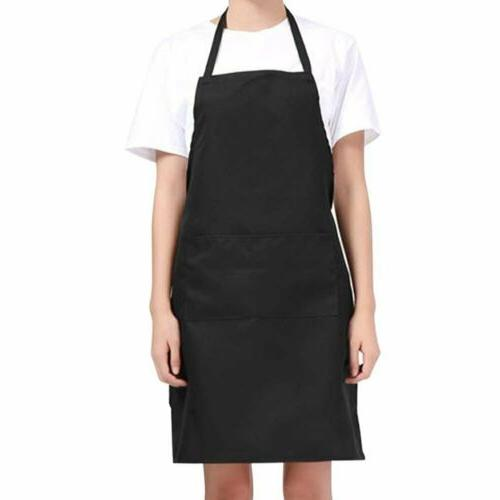 cooking aprons men women solid cooking kitchen