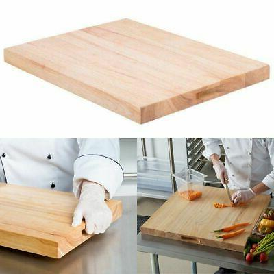 cutting board solid wood large commercial kitchen
