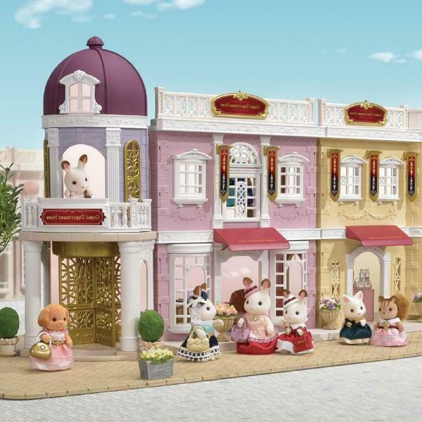 Calico Critters Delicious Restaurant, Pretend Play Kids,