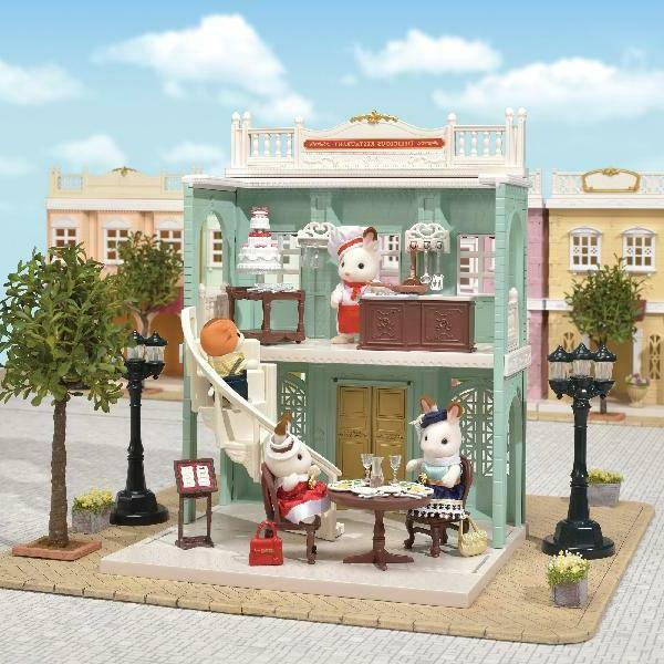 Calico Critters Pretend Play Set Kids,