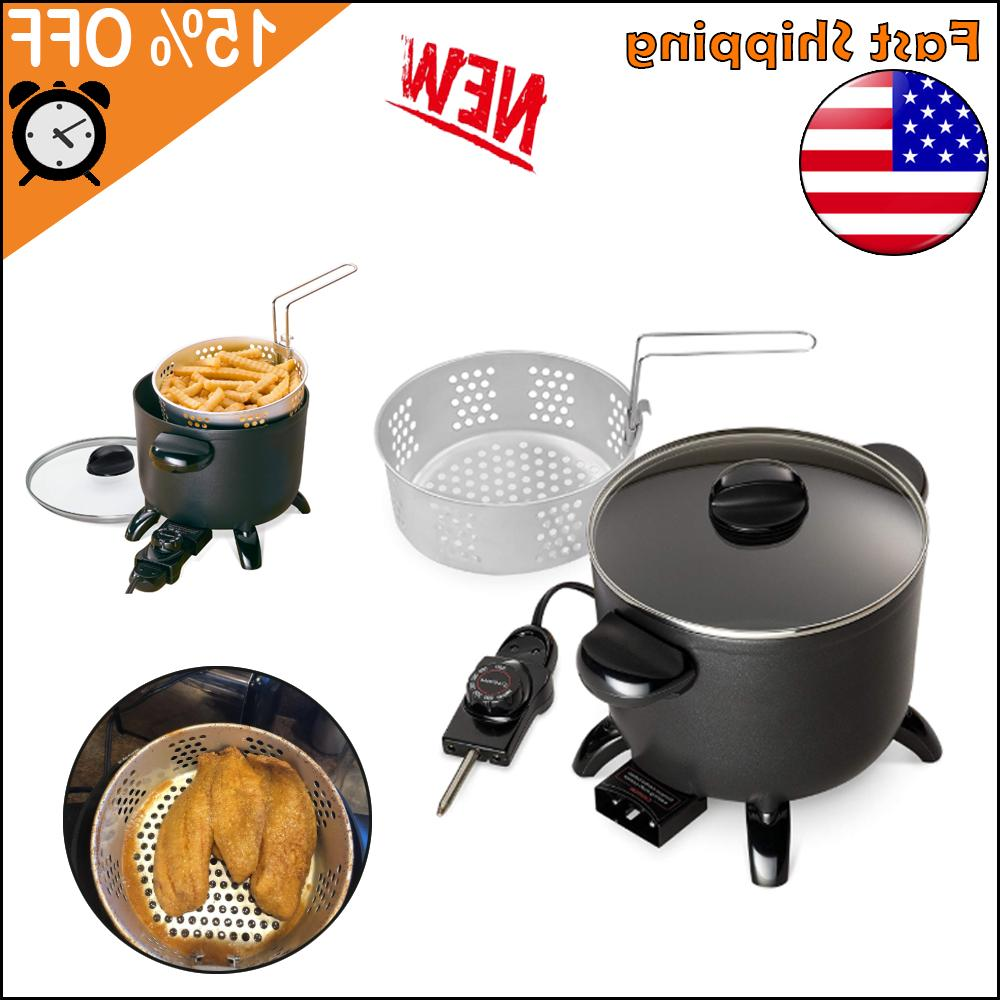 electric deep fryer home restaurant kitchen multi