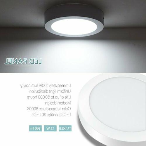 LED Panel Surface Mount Downlight Fixture