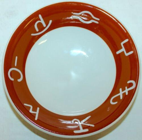 restaurant ware cowboy brands cattle soup cereal