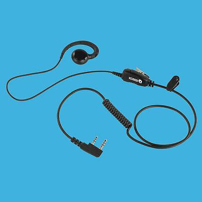 Swivel Style IN-Ear Phone with for Kenwood TK-2400VP TK-3400