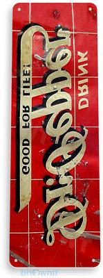 TIN SIGN Dr Pepper Metal Décor Wall Art Cola Store Shop Cav