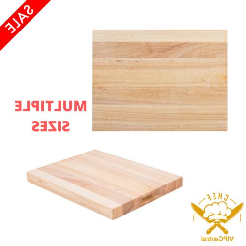 wood commercial restaurant solid cutting board butcher