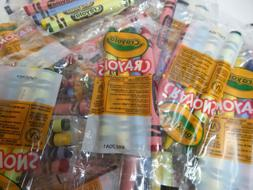 Lot of 25x New Crayola 4 ct pack of Cello Wrapped Crayons Re