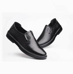 Men's Restaurant Oil Resistant Kitchen Work Shoes Loafer Sli