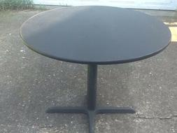NEW Restaurant / Bar TABLE  Reversible Black On One Side Woo
