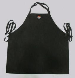 new wendy s restaurant apron bib black
