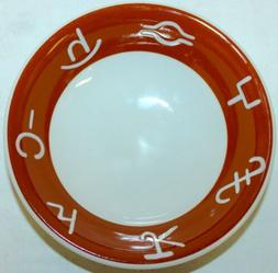 JACKSON China Restaurant Ware Cowboy Brands Cattle SOUP CERE