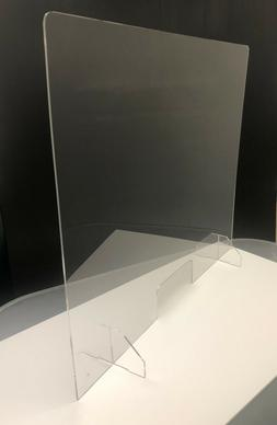 sneeze guard face shield for office restaurant