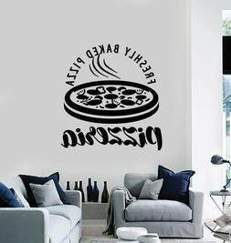 Vinyl Wall Decal Pizzeria Italian Food Pizza Restaurant Deco