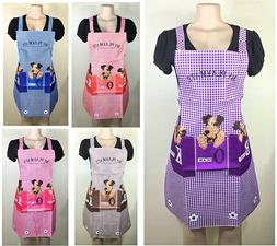 Women Men Kitchen Apron Bib Waterproof Chef BBQ Cooking Baki