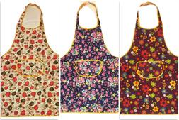 Women Apron Waterproof w/ Pockets Kitchen Restaurant Chef Co