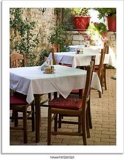 Zadar Restaurant Art Print Home Decor Wall Art Poster - C